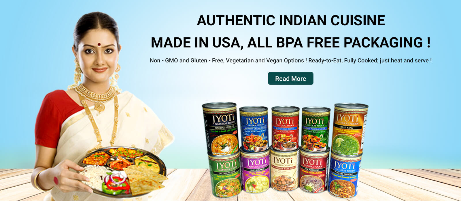 ready to eat indian food in usa