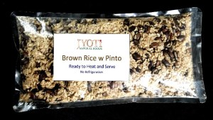 Brown Rice with Pinto